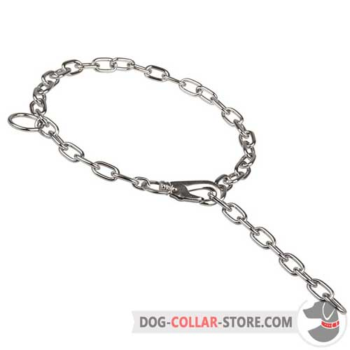 Chrome Plated Dog Fur Saver for Training Sessions