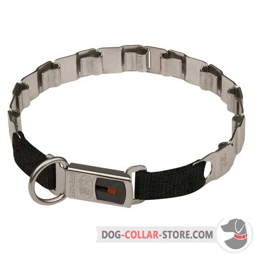 Neck Tech Dog Pinch Collar with Click-Lock System