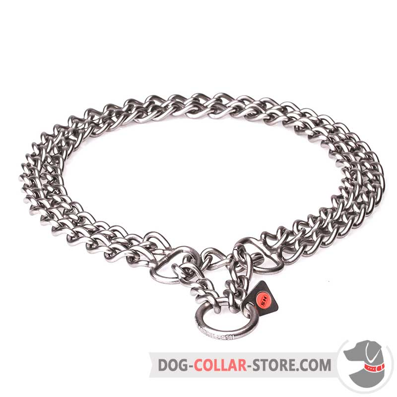 Dog Martingale Collar Dog Metal Collar Stainless Steel