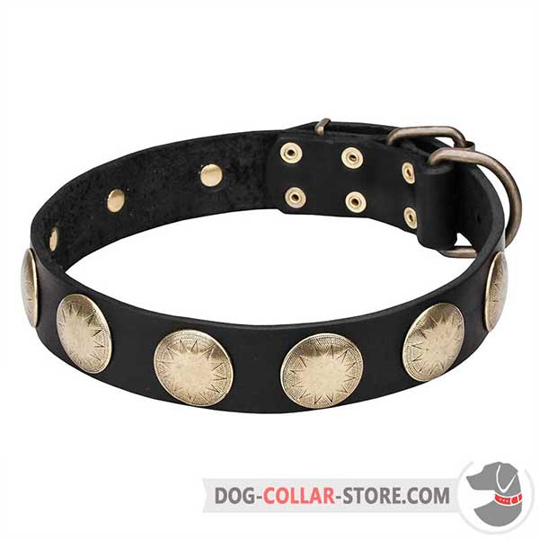Dog Collar of strong genuine leather