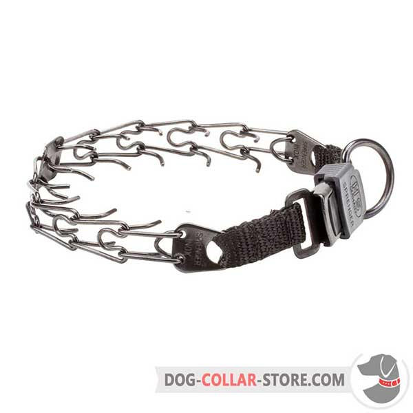 Dog training prong collar, ultra-strong stainless steel