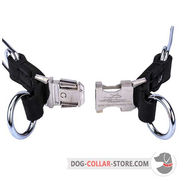 Pinch dog collar: easy-to-use buckle