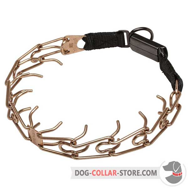 Dog training prong collar, utmost strength