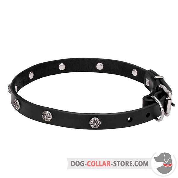 Dog Collar of 100% genuine leather