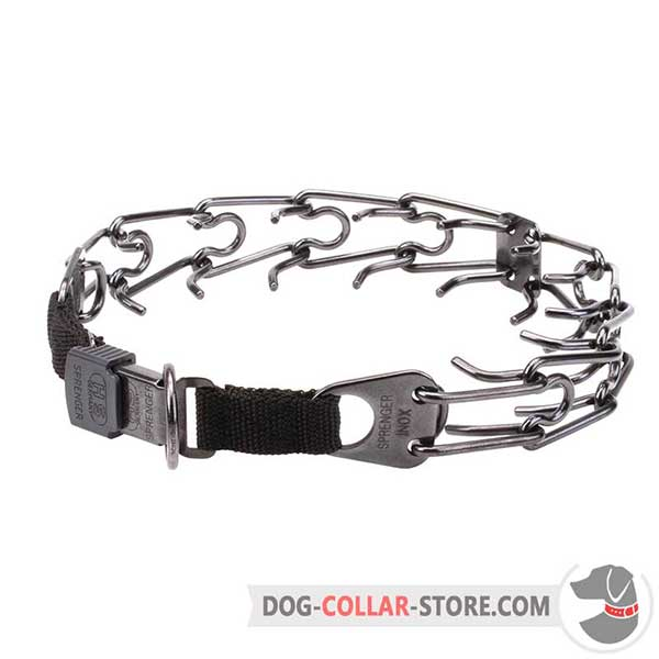 Dog prong collar, prong's diameter 1/6 inch