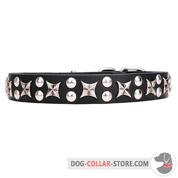 Leather Collar for handling large and medium breeds