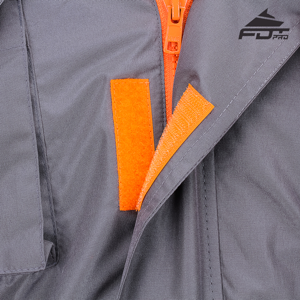 Top Rate Velcro Patches on Dog Tracking Jacket for Handy Use
