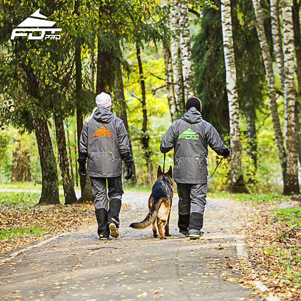 Pro Dog Trainer Jacket of High Quality for All Weather