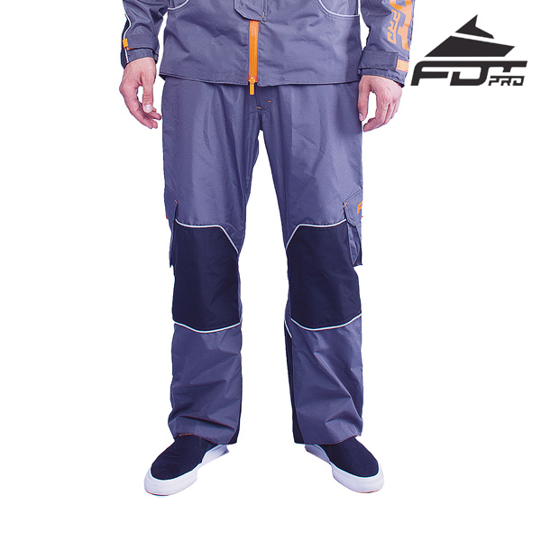 FDT Professional Pants of Grey Color for Any Weather