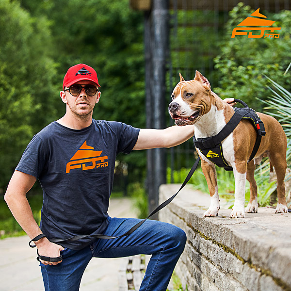 Men T-shirt of Reliable Cotton with Pro Logo for Dog Training