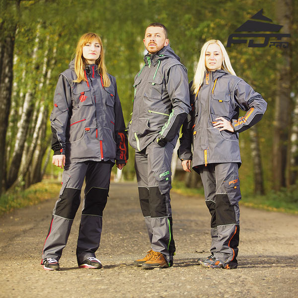 Top Notch Dog Training Suit for Any Weather