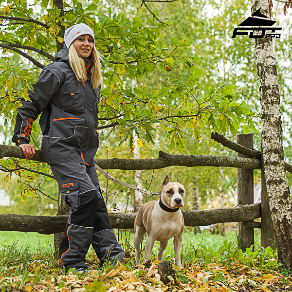 Men / Women Design Pants with Comfortable Side Pockets for Active Dog Trainers