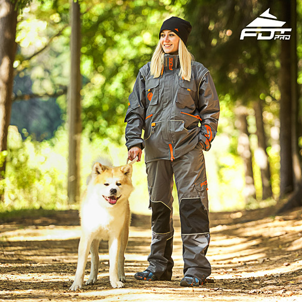 Unisex Design Dog Trainer Jacket of Top Quality Materials