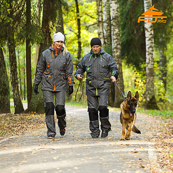 Any Weather Top Rate Dog Training Suit for Men and Women