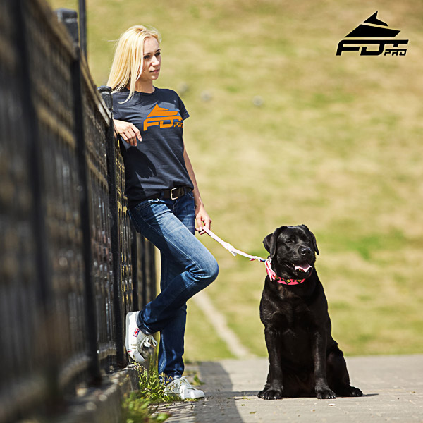 Women T-shirt of Finest Quality Cotton for Dog Walking